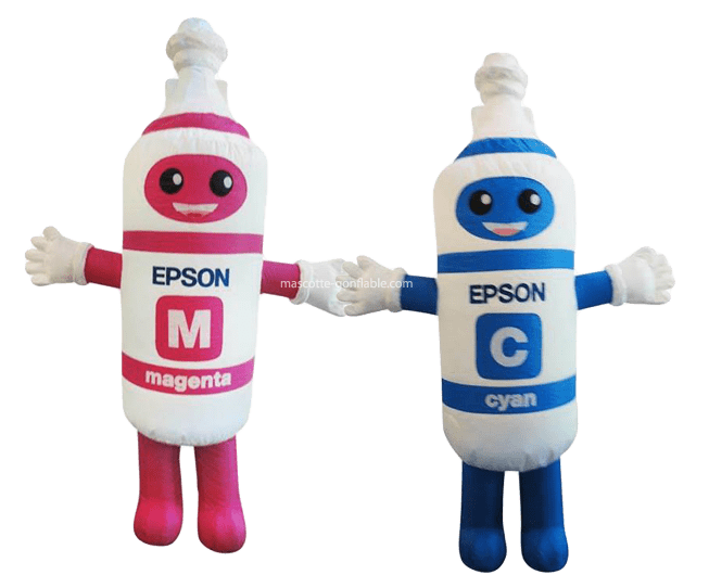 Ink Cartridge Inflatable Mascot Costume