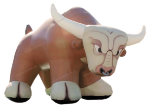 Buy Inflatable Bull structure. Custom inflatable decoration.