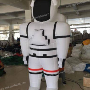 image mascotte gonflable astronaute