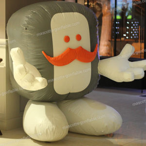 inflatable sculpture. advertising inflatable structure.