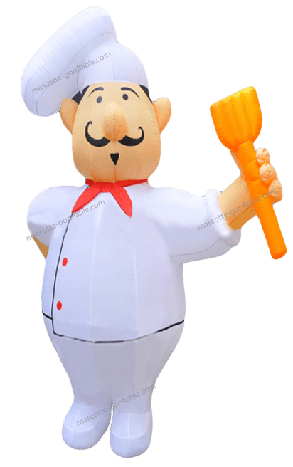 Achat Chef Cuisinier costume Gonflable